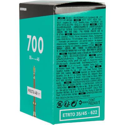 NEUMÁTICO RIN 700 X 35/45 VÁLVULA PRESTA DE 48 MM