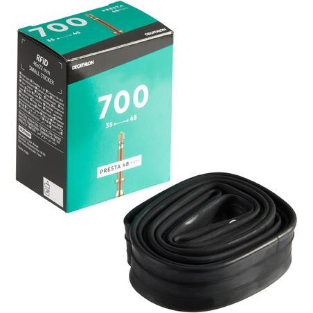 Chambre à air 700x 35/45 valve Presta 48mm