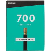 Chambre à air 700 x 35/45 valve Schrader 48mm