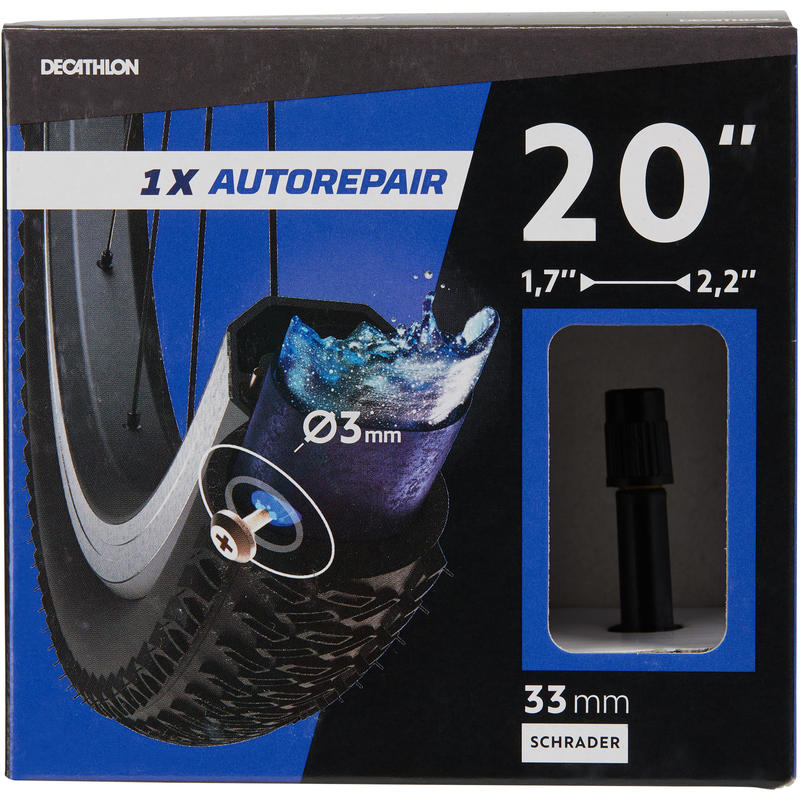 20x1.7-2.2 Self-Sealing Bike Inner Tube - Schrader