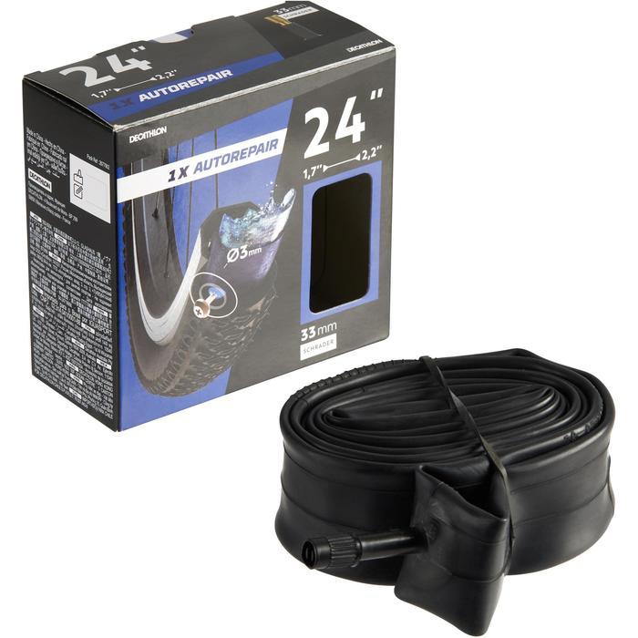Binnenband 24x1,7/2,2 Schrader-ventiel zelfdichtend