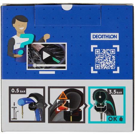 """24x1,7/2,2 pašremontējošā kamera """"Schrader"""""""