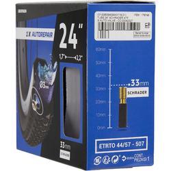 Fahrradschlauch 24 x 1,7/2,2 selbstreparierend Schrader 33 mm