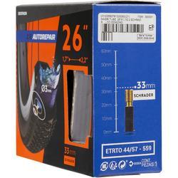 Fahrradschlauch 26 Zoll x 1,7/2,2 selbstreparierend Autoventil
