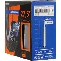 27.5 x 1.7/2.2 Self-Sealing 60 mm Presta Valve Inner Tube