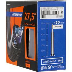 Fahrradschlauch 27,5×1,7/2,2 selbstreparierend Presta 60 mm