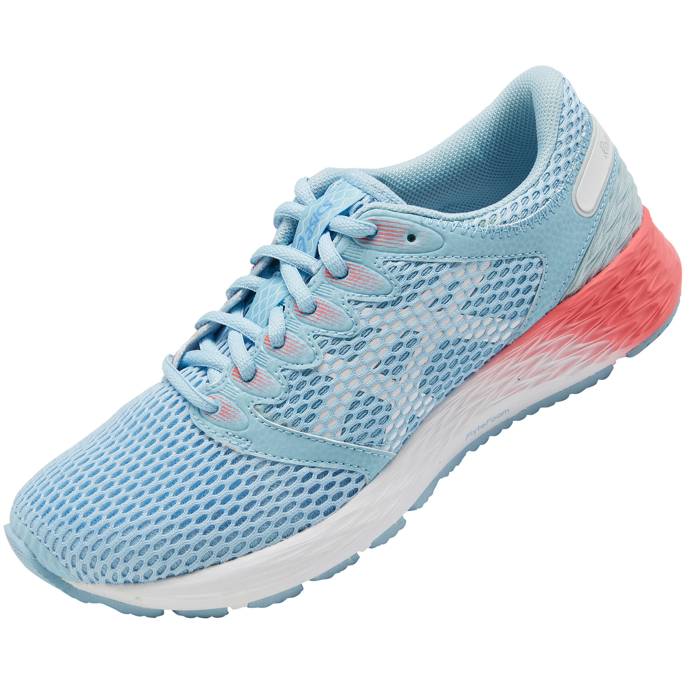 chaussure running femme gel roadhawk bleue asics