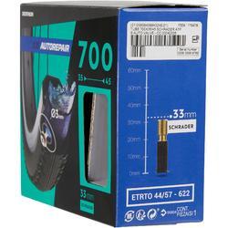 Fahrradschlauch 700 x 35/45 selbstreparierend Schrader 33 mm