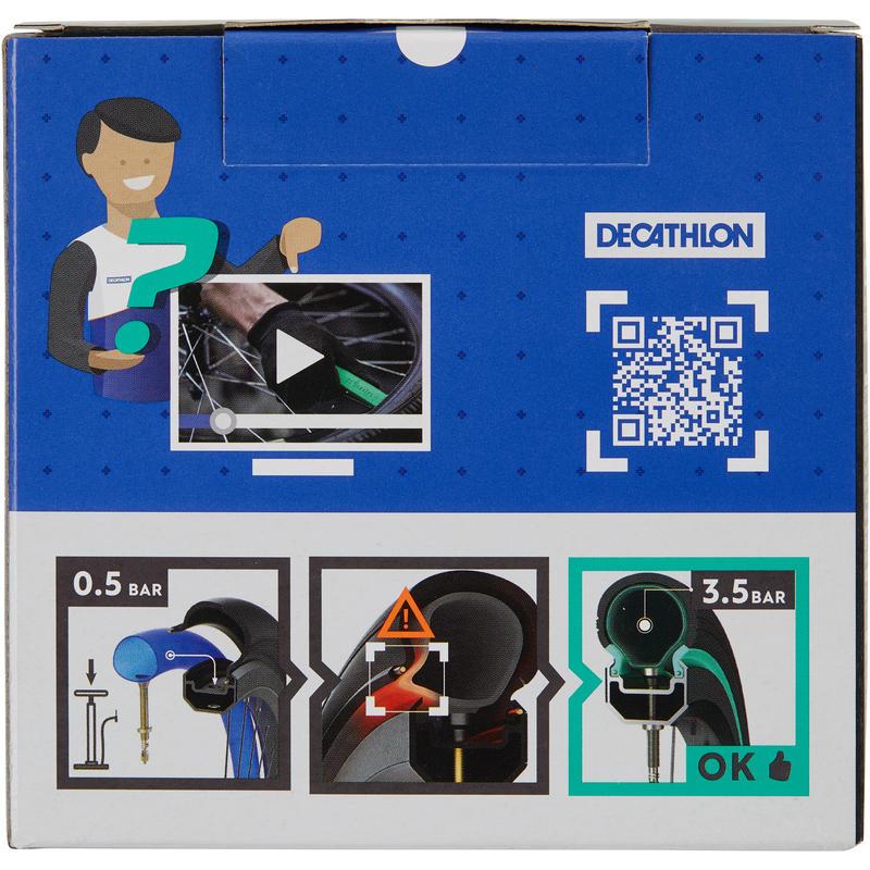 700x35 / 45 Self-Repairing Schrader Inner Tube