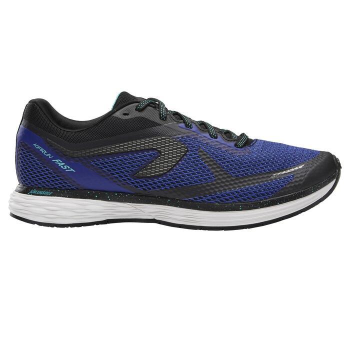 Zapatillas Running Kalenji Kiprun Fast Hombre Azul Índigo/Negro