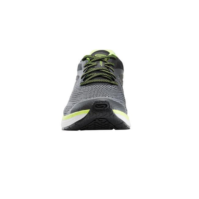 KIPRUN FAST 2 MEN'S RUNNING SHOES GREY/YELLOW