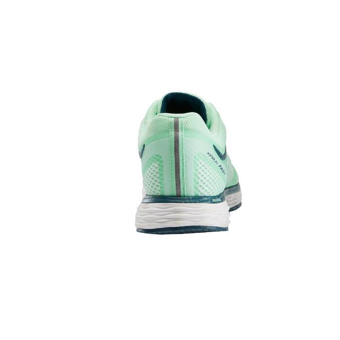Hardloopschoenen voor dames Kalenji Kiprun Fast groen