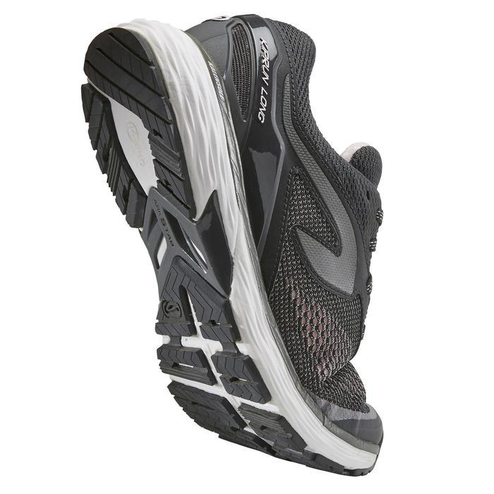 Hardloopschoenen voor dames Kiprun Long zwart zilver
