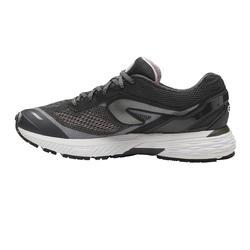 KIPRUN LONG WOMEN'S RUNNING SHOES - BLACK/SILVER