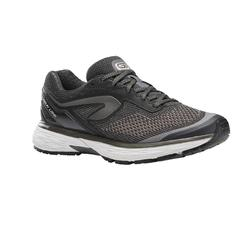KIPRUN LONG WOMEN'S RUNNING SHOES - BLACK/SILVER