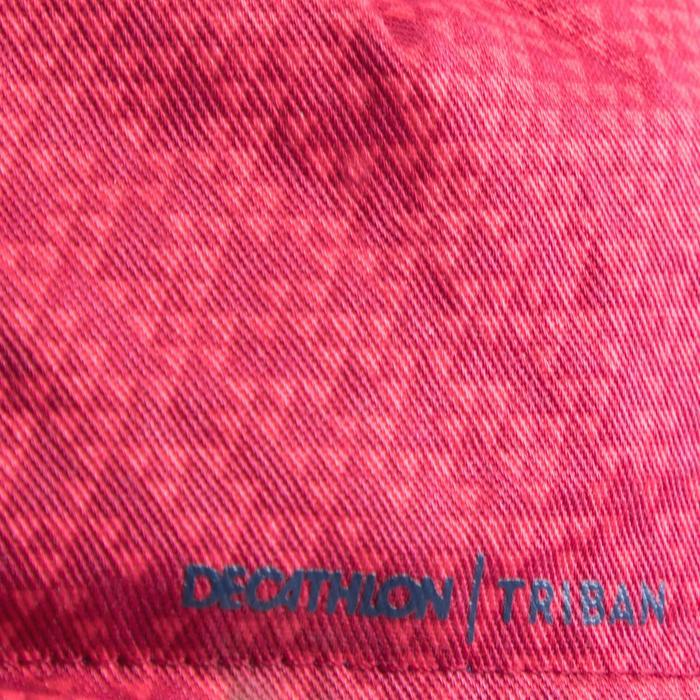 Fietspet Roadr 500 marineblauw & roze