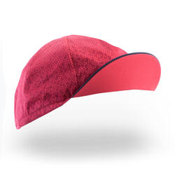 RoadR 500 Cycling Cap - Navy Blue/Pink