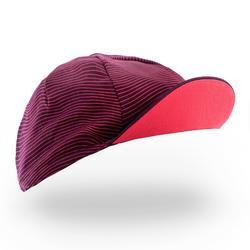 自行車運動帽RoadR 500 - 紫紅色/粉紅色