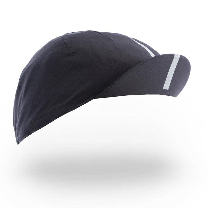 Fahrrad-Mütze Rennrad RR 520 Ultralight schwarz