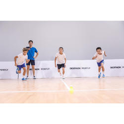 Badmintonschläger BR100 Set Starter Kinder