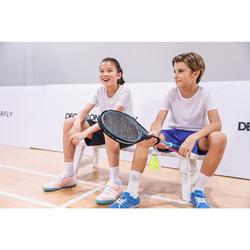 Badmintonset voor kinderen blauw/roze