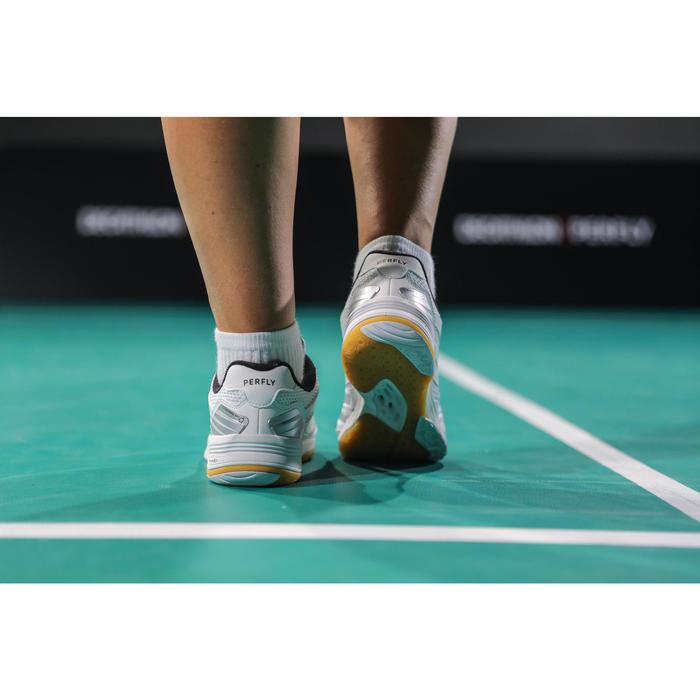 Chaussures De Badminton BS590 Max Comfort pour Femme - Blanc