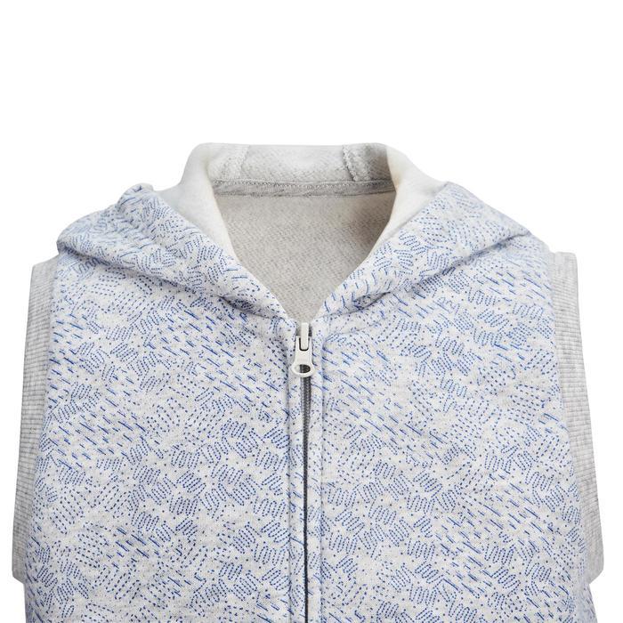 嬰幼兒體能活動無袖外套500 - 灰色