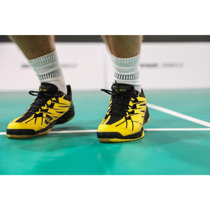 男款極致舒適羽球鞋BS 590-黃色