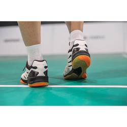 Zapatillas de bádminton ARTENGO BS 590 Max Confort Hombre blanco