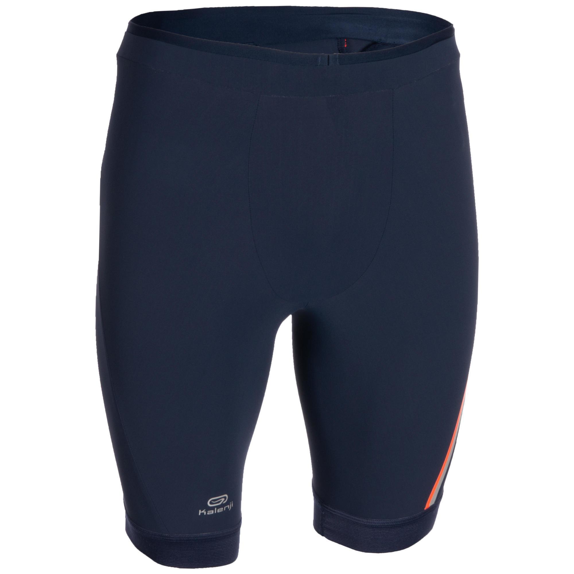 Kalenji Korte atletiekbroek Kiprun heren blauw/rood