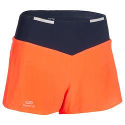 Atletiekshort voor dames oranje