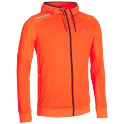 Herenjack Warm-Up atletiek oranje
