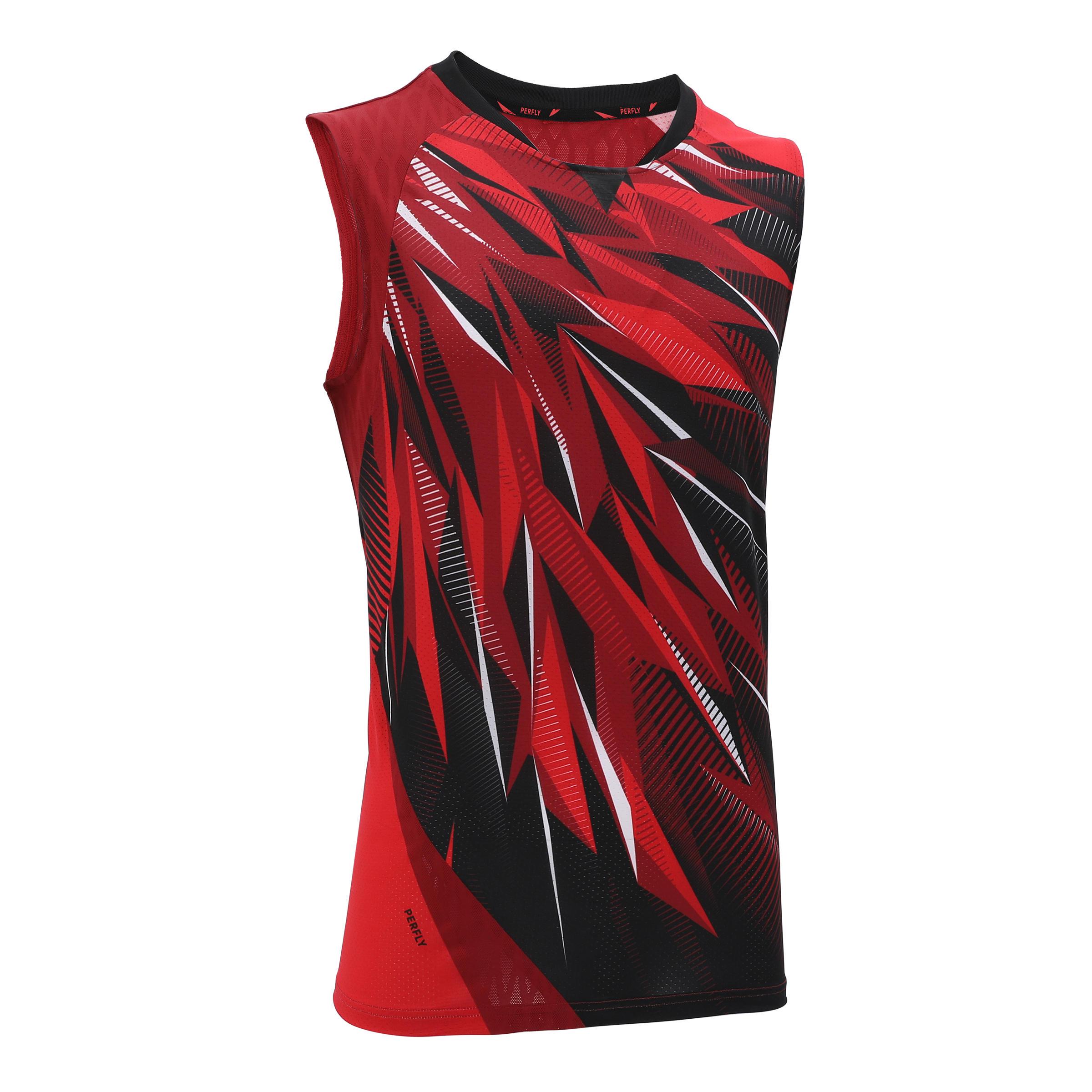 Débardeur de badminton homme 990 rouge perfly