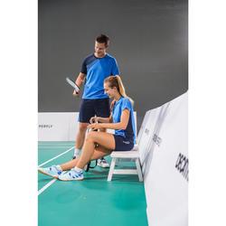 SHORT de badminton FEMME 530 MARINE BLEU