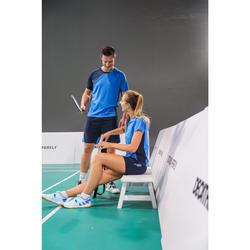 Damesshort voor badminton 530 marineblauw