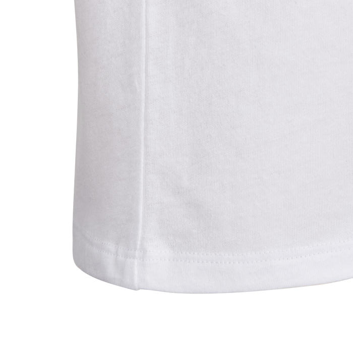 100 Baby Gym Short-Sleeved T-Shirt - White Print