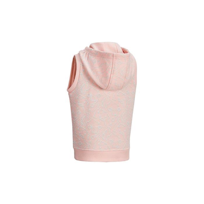 嬰幼兒體能活動無袖外套500 - 粉紅色