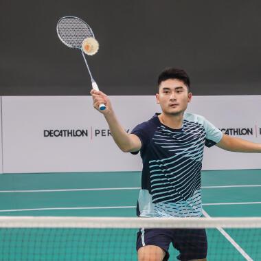 Spanning badmintonracket