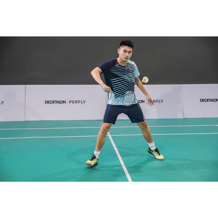 Chaussures De Badminton pour Homme BS560 Lite - Blanc/Jaune