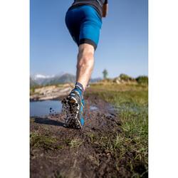 Laufhose Baggy Trail Komfort Herren blau