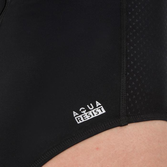 Waterpolobadpak 500 voor dames zwart
