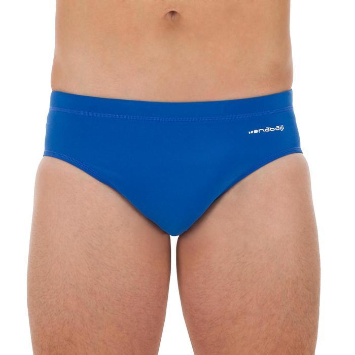 Zwemslip voor waterpolo voor heren 500 blauw