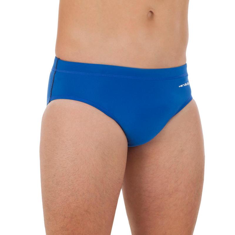 Simples Homens Azuis 500 Desporto Pólo aquático Cuecas - UK 40 - UE 48
