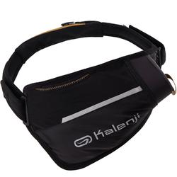 TRAIL FLASK HOLDER WAISTBAND 500ml - Black/Bronze