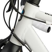 Protection transparente pour cadre de vélo