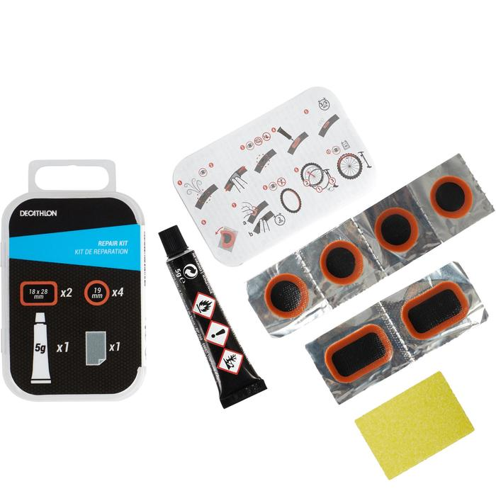 KIT DE PATCHS DE REPARATION CHAMBRE A AIR VELO