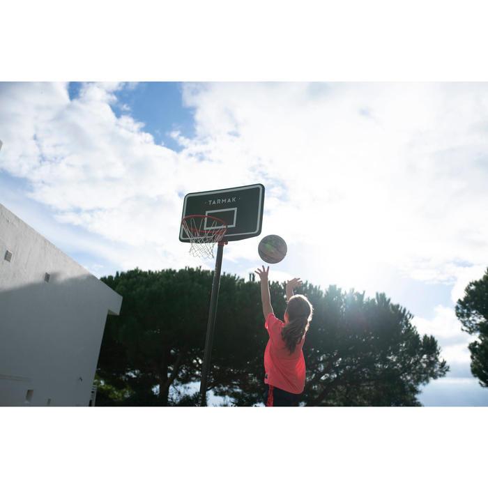 Panier de Basket enfant/adulte B100 Easy. Réglable sans outils de 2,20m à 3,05m.