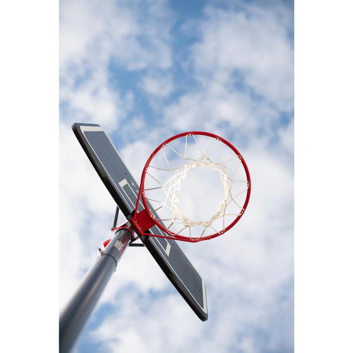 Canasta Baloncesto Tarmak B100 Easy ajustable sin herramientas de 2,20 a 3,05 m