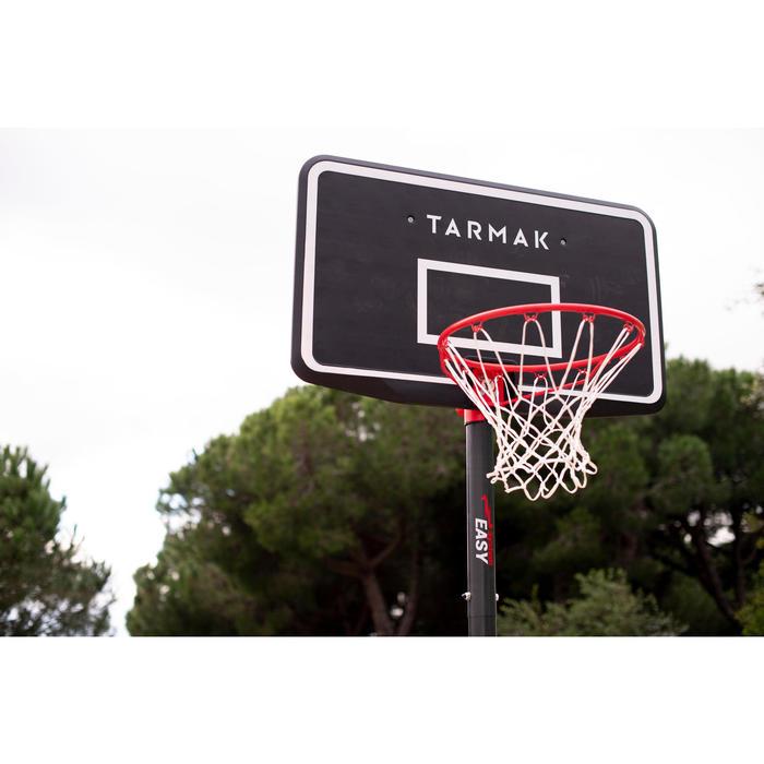 兒童/成人款籃球架B100 Easy 2.4 m到3.05 m(無需工具調整)。
