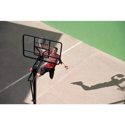 兒童/成人籃球架B700 Pro 2.4 m到3.05 m。一共可變換7種高度。